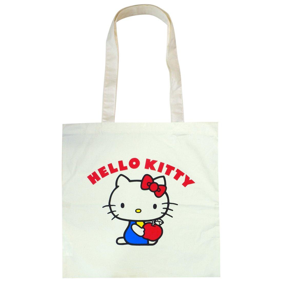 Algodoen con Hello Kitty Eco Marcos ECHK456 bolsa de manzana Small Planet