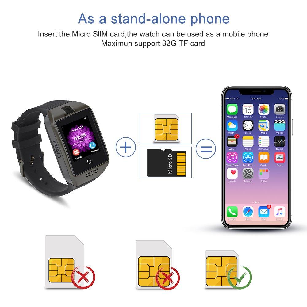 Reloj inteligente, CulturesIn Pantalla táctil Bluetooth ...