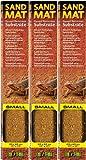 Exo Terra Sand Mat Desert Terrarium Substrate, Small 3ct