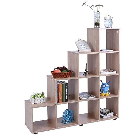 Scaffali E Librerie Design Legno.Soulong Libreria Di Design In Legno Scaffale Cubo Legno Scaffale