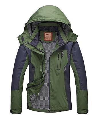 Amazon.com: Women's Casual Waterproof Outdoor Jacket-Diamond Candy ...