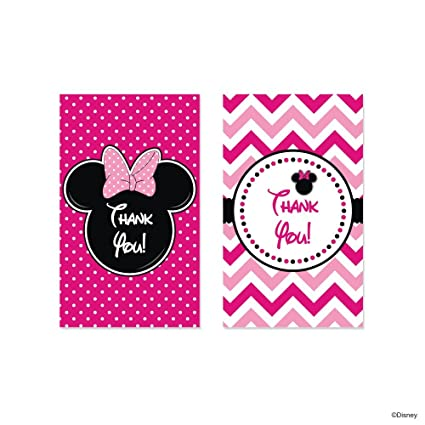 disney minnie mouse thank you tags amazon in toys games