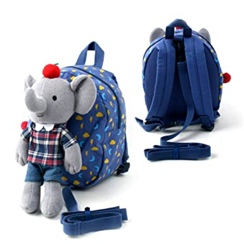 ... Safety Harness Detachable Leash Backpack for Toddler Kids Children  Preschool Baby Backpacks Bags Lunch Box Bottle ... 303371e964c73