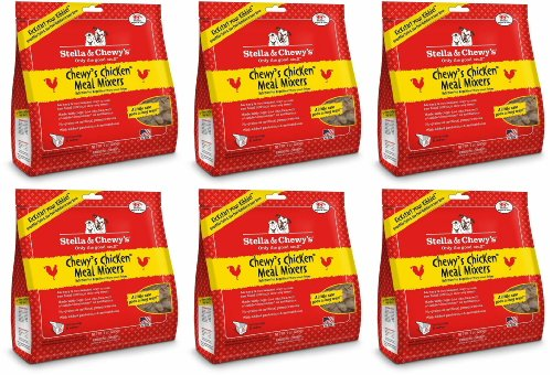Stella & Chewy's Chewy's Chicken Freeze-Dried Meal Mixers 54oz (6 x 9oz) by Stella & Chewy's