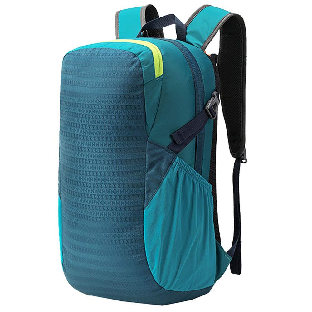 アウトドア登山バッグバックパック25Lユニセックス耐摩耗性ハイキングレジャー登山バッグ青48 * 16 * 27CM B07KPV5ZTH
