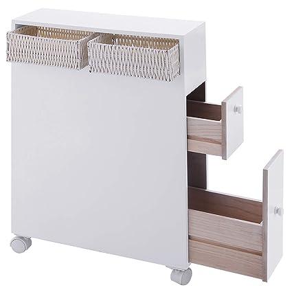 white wooden bathroom furniture. TANGKULA Bathroom Storage Wood Rolling Floor Cabinet Wooden  Home Bath Toilet Organizer White Wooden Bathroom Furniture