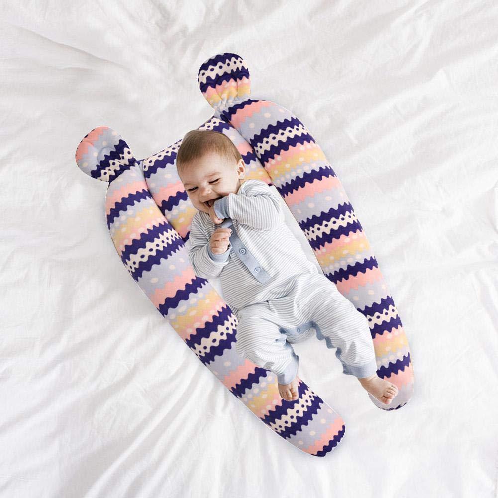 Babynest,multifunktionales Kuschelnest f/ür Babys und S/äuglinge,Nestchen,Reisebett,PP Baumwolle,antiallergisch,Ma/ße:80cm x 50cm
