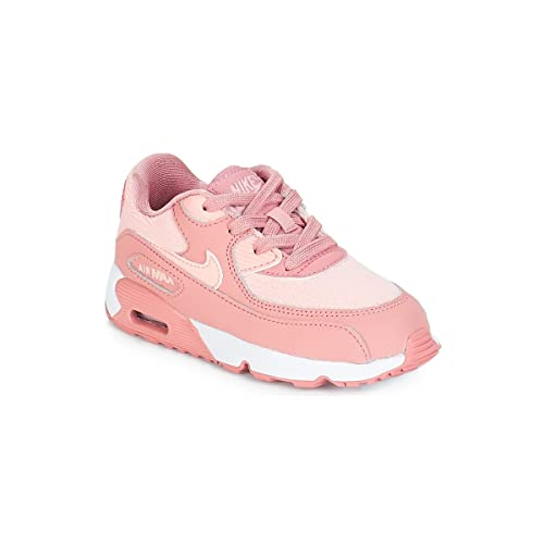 more photos 1dfda 46fd8 Nike Unisex Kids Air Max 90 Se Mesh (td) Competition Running Shoes,  Multicolour