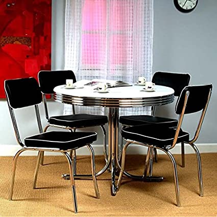Simple Living Bistro Retro Dining Table