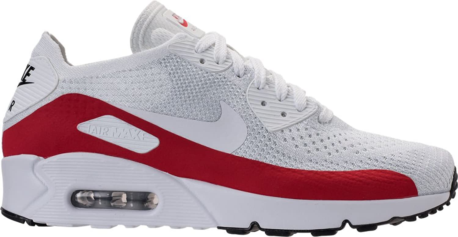 ナイキ シューズ スニーカー Men's Nike Air Max 90 Ultra 2.0 Flyknit White/Gym 1y6 [並行輸入品] B07573J3W3