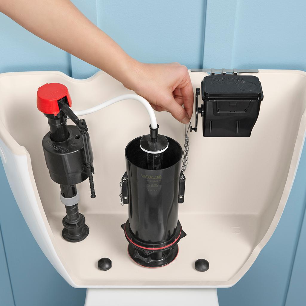 Kohler K 1954 0 Touchless Toilet Flush Kit Toilet Flush