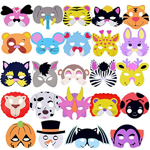 Animal Kids Masks - 6