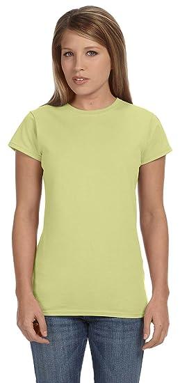 032bf4e4fec2fc SoftStyle Ringspun T-Shirt~Avocado~Womens-2X at Amazon Women's Clothing  store: Fashion T Shirts