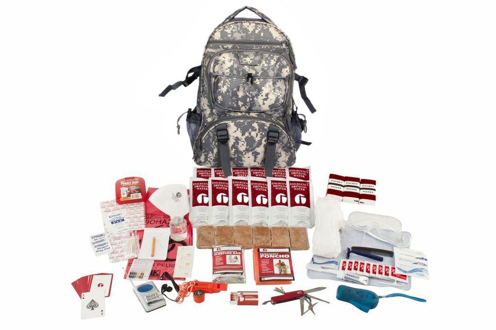 ガーディアンサバイバルギアHiker 'sデラックス緊急キット 2 Person Camo Backpack B01KYG1DB4