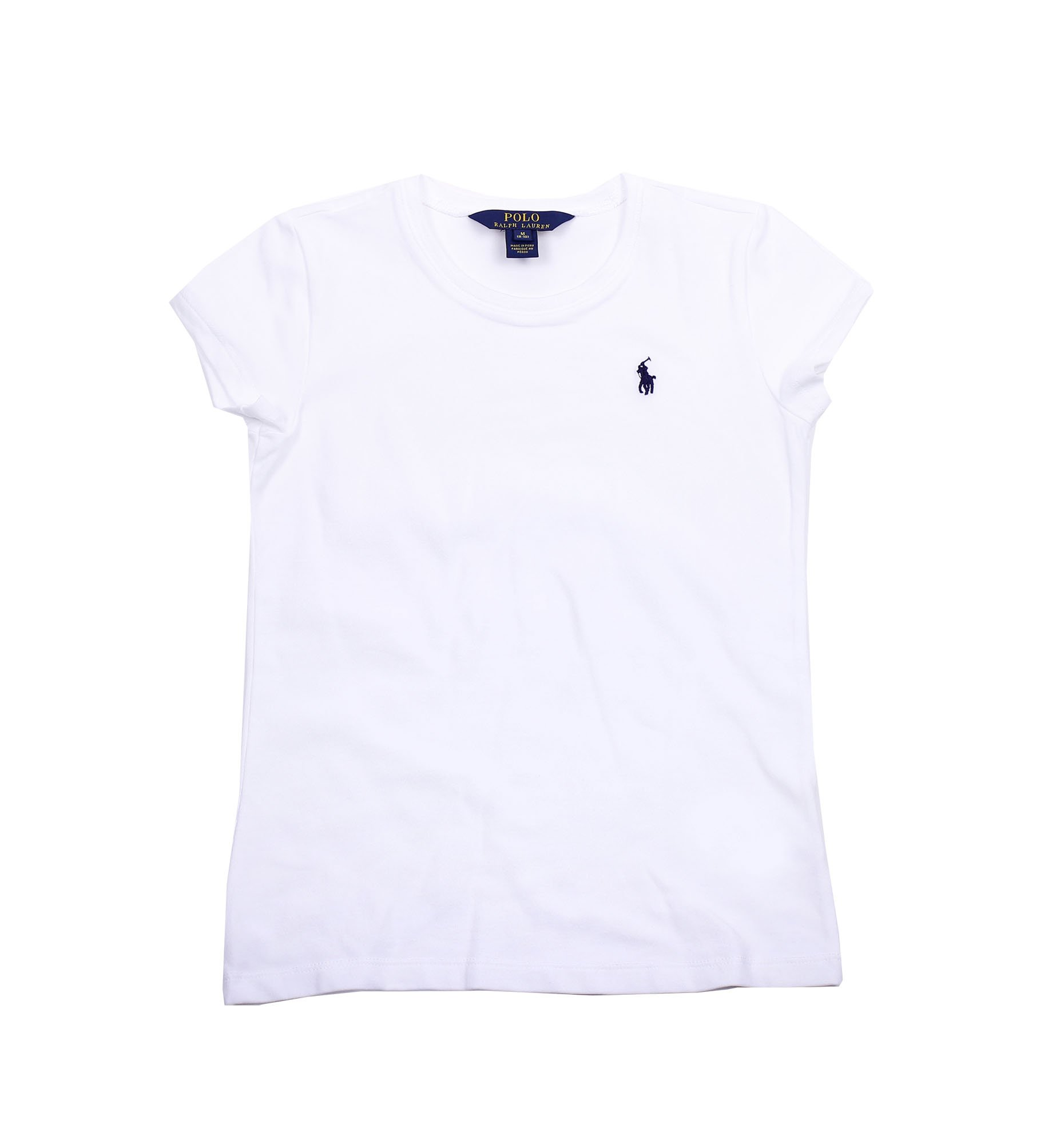 Lauren T Polo Crewneck Shirt12 Ralph Girls 14White oeCxrQdBW