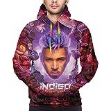 Pop Singer Chris Brown 3D Print Hoodie Women Men Casual  Pullover Sweatshirt Top