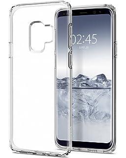 Spigen [Liquid Crystal Funda Galaxy S9 con Protección TPU Flexible y Ligero para Samsung Galaxy