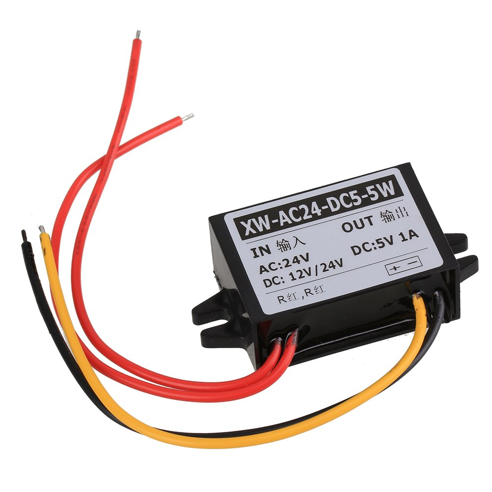WEONE AC 24V to DC 5V 1A 5W Car Power Supply Buck Converter Non-isolated Buck Module by WEONE (Image #1)