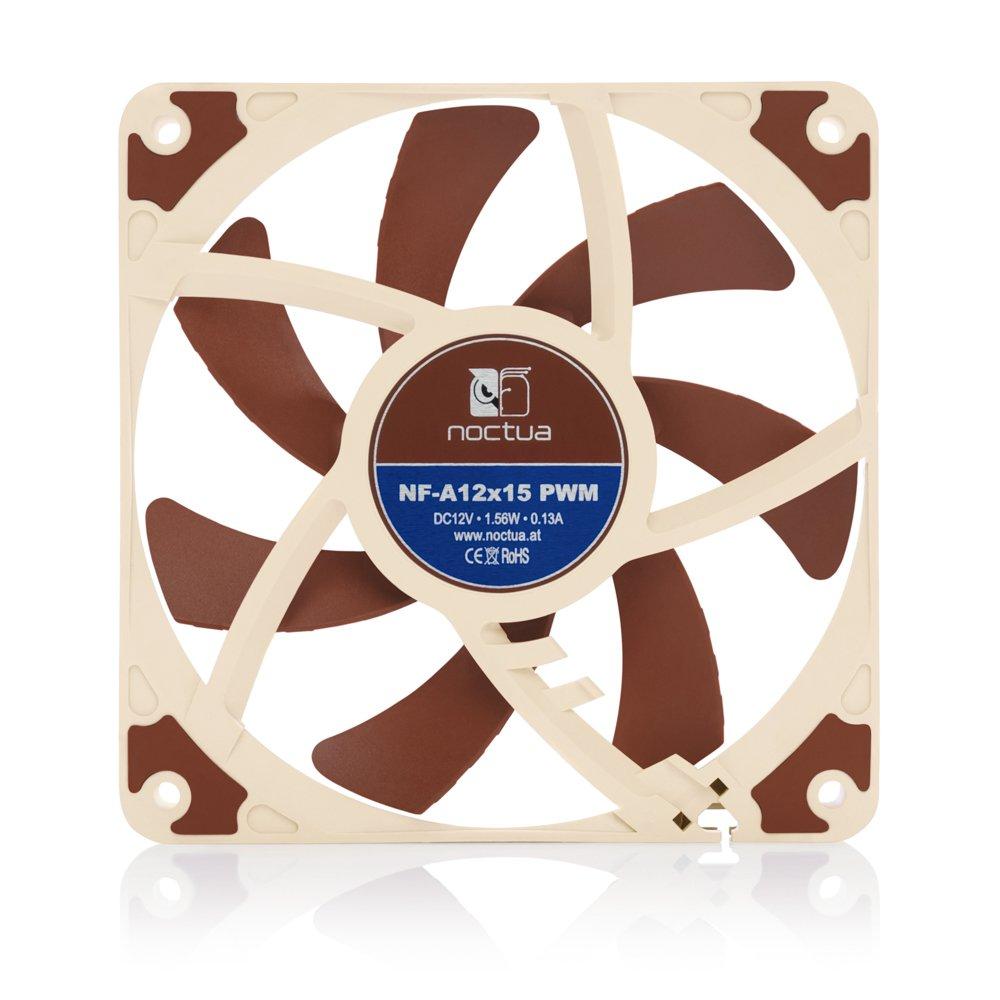 Noctua NF-A12x15 PWM Premium-Quality Quiet Slim 120mm Fan