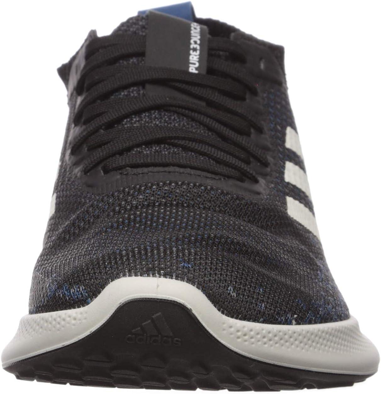 Adidas Purebounce + scarpe da corsa da uomo Nero Bianco Legend Marine
