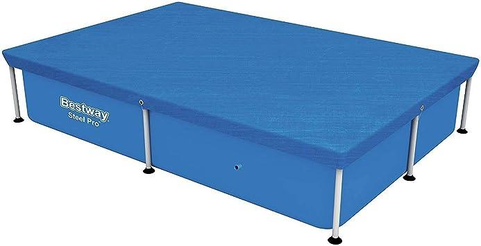 BESTWAY - Cubierta para piscina 58103 L229hp160cm: Amazon.es ...