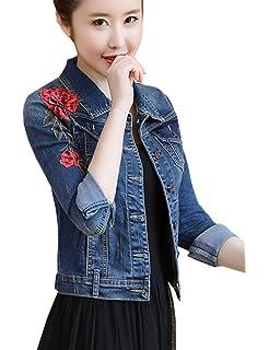 f1d0bea66bbc Nicole Miller New York Womens NM Denim Jacket at Amazon Women s ...