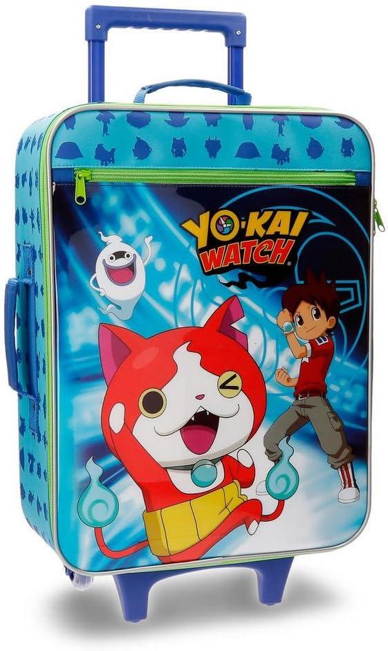Yokai Watch 4159061 Nathan Equipaje Infantil, 50 cm, 25 litros, Azul