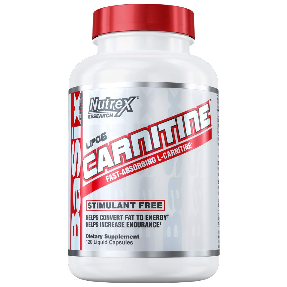 Nutrex Research Lipo-6 Carnitine - 120 Liquid Capsules by Nutrex Research