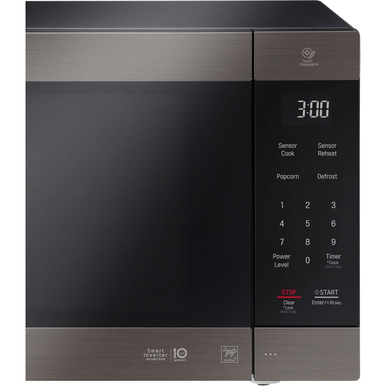 LG 2.0 Cu. Ft. NeoChef Countertop Microwave (LMC2075BD) Stainless Steel/Black (Renewed) by LG (Image #3)