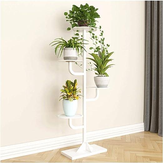 JKL-Soportes para plantas Soporte de flor de metal, Balcón en casa ...