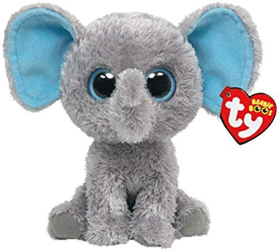 Alaska Stuffed Animals, Amazon Com Lfslas Ty Beanie Boos Stuffed Animals Peanut The Gray Elephant Toy 15cm Toys Games