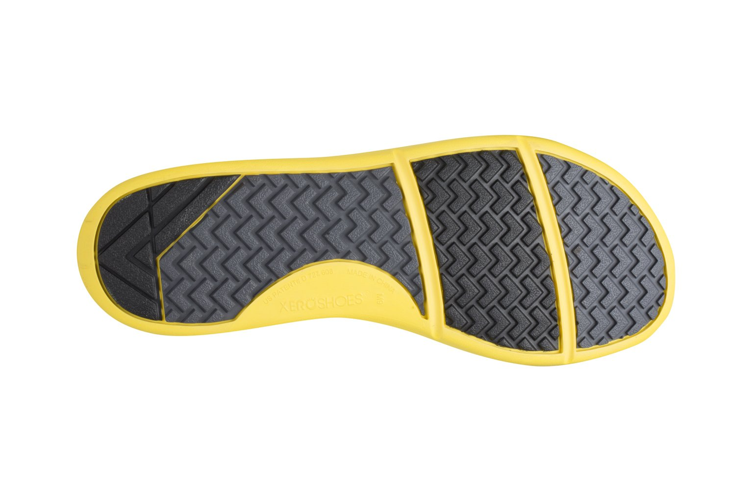 Xero Shoes Prio - Men's Minimalist Barefoot Trail and Road Running Shoe - Fitness, Athletic Zero Drop Sneaker - True Yellow by Xero Shoes (Image #3)