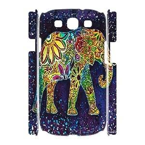 kimcase Custom Elephant Aztec 3D Cover for Samsung Galaxy S3 I9300