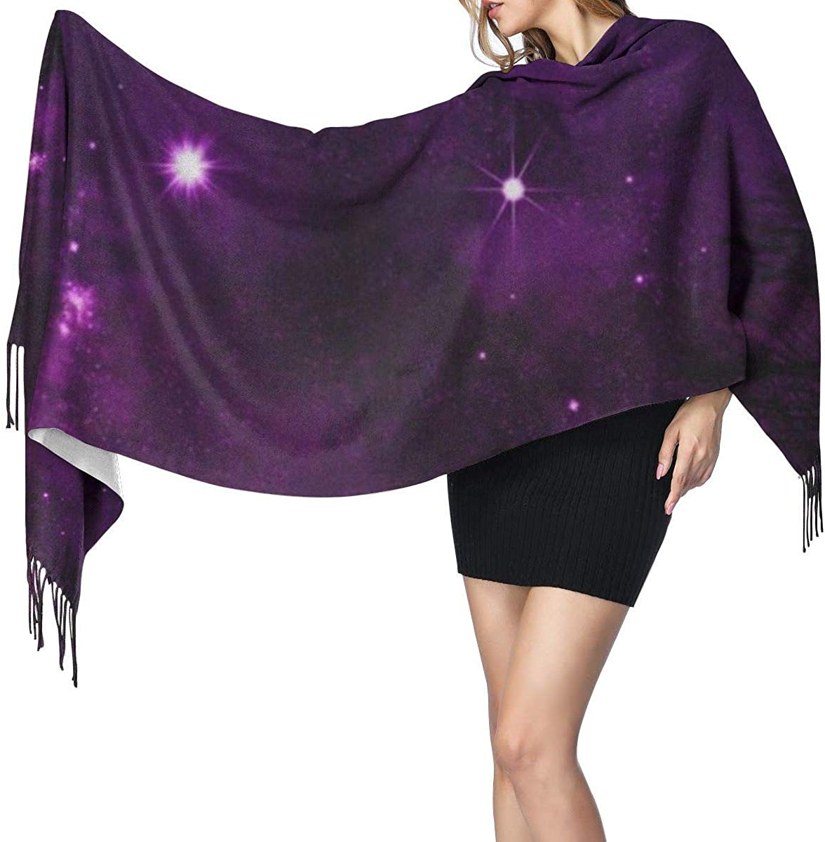MISS-YAN colorida nebulosa del cielo nocturno a través de la moda ...