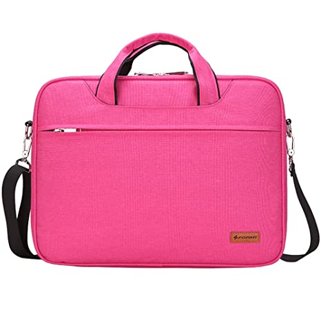 Awland Water Resistant Laptop Shoulder Bag Durable Laptop Handbag Briefcase Carry Bag Macbook Sleeve Messenger Bag