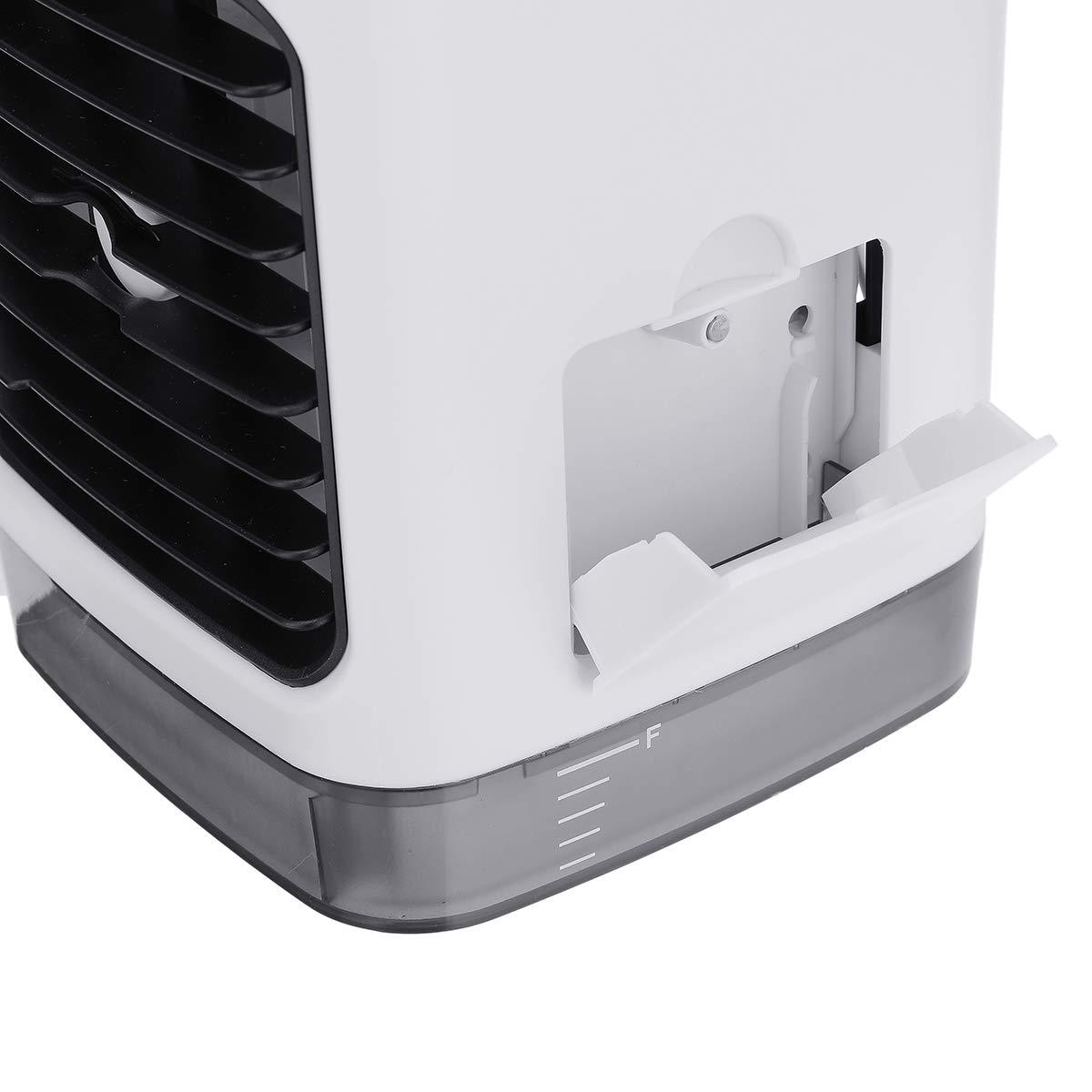 K/üche drinnen im Freien OUTERDO Tragbare Klimaanlage Air Cooler Luftbefeuchter,4in1 Mobile Klimaanlage Luftreiniger B/üro Desktop-Luftk/ühler Mini-Ventilator f/ür Zuhause