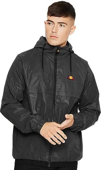 7dcf9f36 ellesse Jacket Lightweight Hooded Calimera Full Zip - Reflective ...