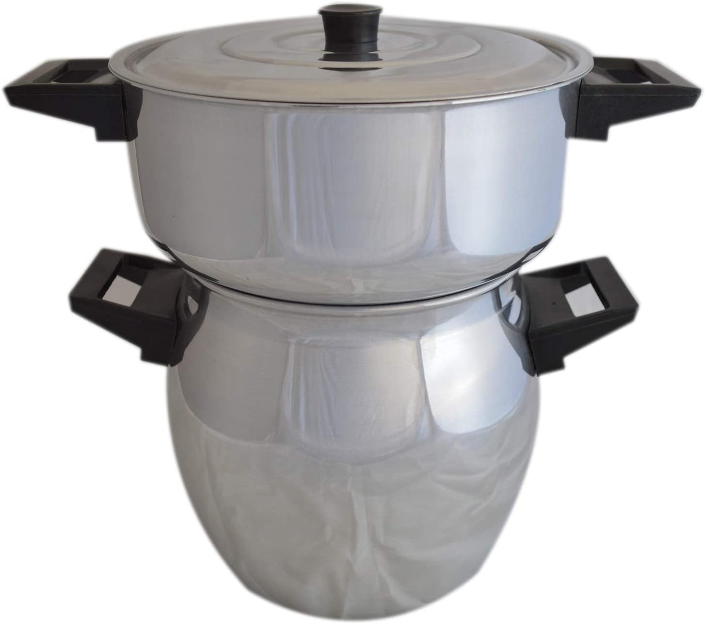 Couscoussier 6 Liter Moroccan Steamer Pot Imported from Morocco Couscous Cooker Pot