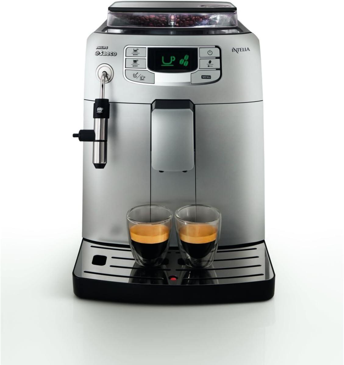 Saeco HD8752/41 - Cafetera Saeco Intelia espresso automática 1900W ...