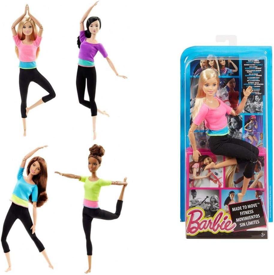 Amazon.es: Barbie - Movimientos sin límites Surtidas Mattel ...