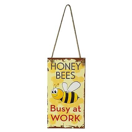 Amazon.com: WINOMO miel las abejas ocupadas en el trabajo ...