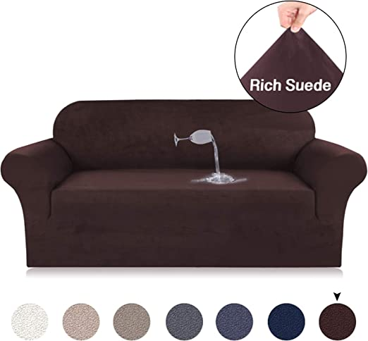 1-3 seat Slipcover Sofa Chair Furniture Corner Couch Cover Protector Home Decor