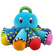 Lamaze Octotunes Blue Plush Musical Octopus