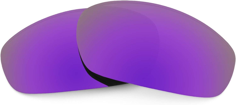 Revant Verres de Rechange pour Oakley Blender - Compatibles avec les Lunettes de Soleil Oakley Blender Violet Plasma Mirrorshield - Non Polarisés