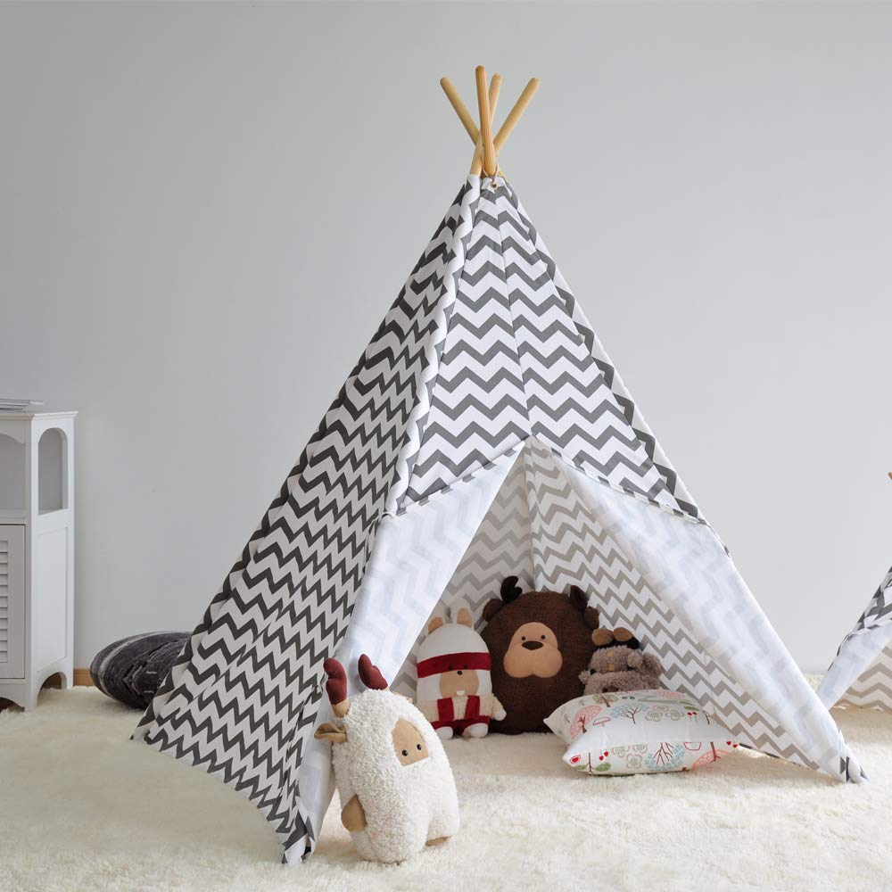 watch 336a4 da24e Asweets Kids Teepee Tent Play Tent Children's Playhouse for ...