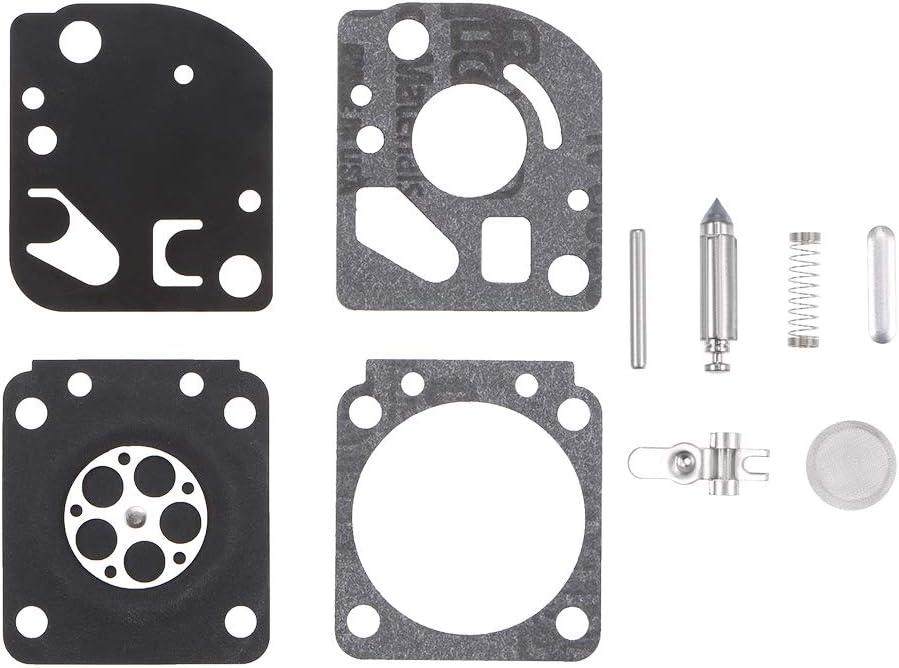 uxcell RB-71 Carburetor Rebuild Kit Gasket Diaphragm for Zama RB-71 Echo TC-100 Mantis Tiller SV-4//E SV-4//B Engines Carb 2pcs