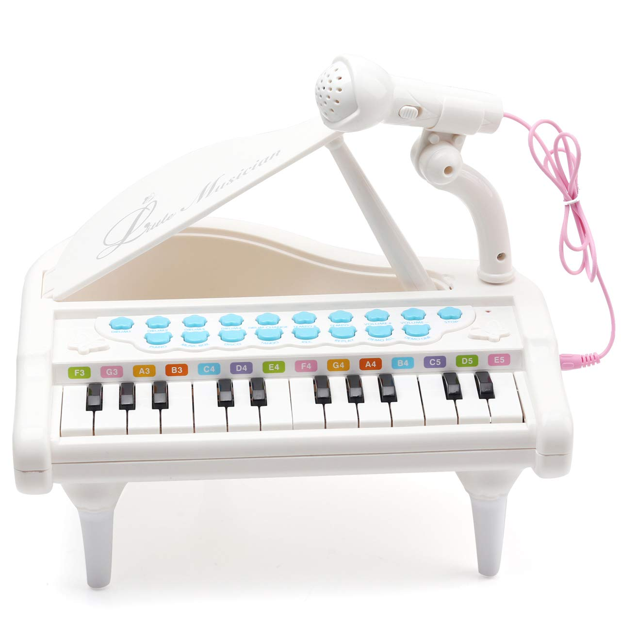 48a3b7bf98899 Amy   Benton Piano Keyboard Toy for Kids 1 2 3 4 Year Old