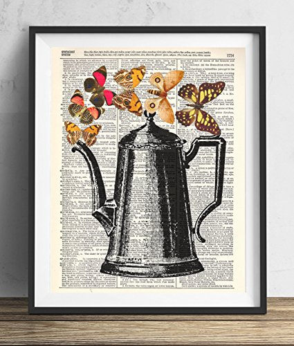 vintage-coffee-pot-with-butterflies-dictionary-art-print-8x10