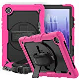 CLARKCAS Galaxy Tab A7 Case 10.4 2020 SM-T500/T505/T507 with Screen Protector Kids Shockproof Rugged Stand Cover Samsung Gala