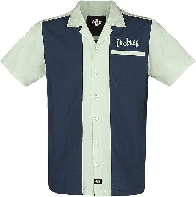 Dickies Pulaski Hombre Camisa manga Corta Azul oscuro M, 100 ...